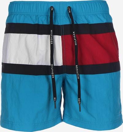 Tommy Jeans Boardshorts ' Sportswear ' in de kleur Blauw, Productweergave