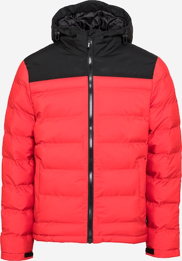 INDICODE JEANS Kurtka zimowa 'Eberhardy' w kolorze jasnoczerwony / czarnym, Podgląd produktu