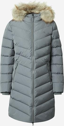 Palton de iarnă Calvin Klein Jeans pe gri, Vizualizare produs