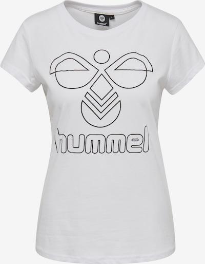 Hummel Functioneel shirt 'Senga' in de kleur Zwart / Wit, Productweergave