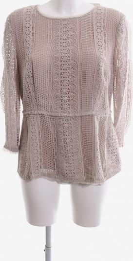 Massimo Dutti Langarm-Bluse in M in nude, Produktansicht