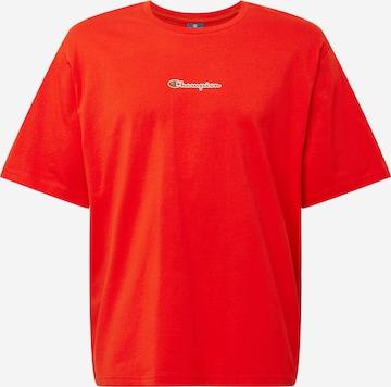 Maglietta di Champion Authentic Athletic Apparel in rosso