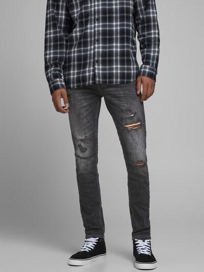 JACK & JONES Jeans 'Liam' in de kleur Black denim, Modelweergave