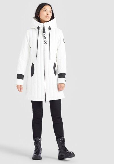 khujo Mantel ' JERRY PRIME4 ' in weiß, Modelansicht