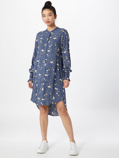 JACQUELINE de YONG Tunika 'PEAK' i blå / blandade färger, På modell
