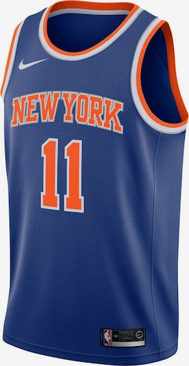 NIKE Basketballtrikot 'NBA New York Knicks #11 Ntilikina' in navy / orange / weiß, Produktansicht