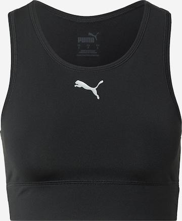 PUMA Biustonosz sportowy w kolorze czarny