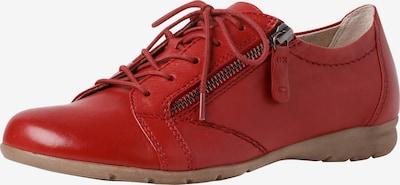 JANA Schnürschuh in rot, Produktansicht