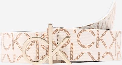 Calvin Klein Колан в бежово / кремаво, Преглед на продукта
