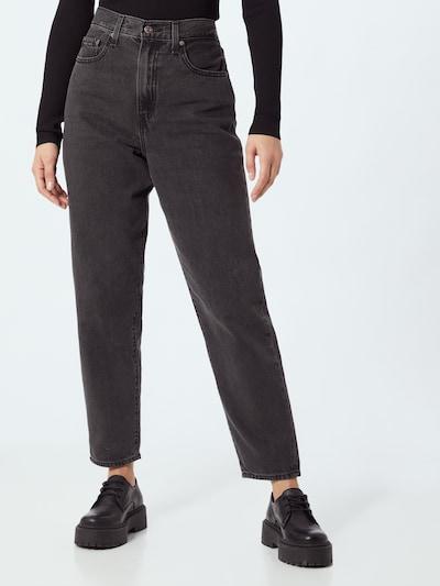 LEVI'S Jean ' High Loose Taper ' en noir, Vue avec modèle