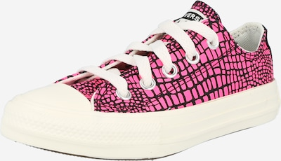 CONVERSE Sneaker in neonpink / schwarz / weiß, Produktansicht