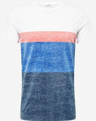TOM TAILOR DENIM Shirt in de kleur Blauw / Rosé / Wit, Productweergave