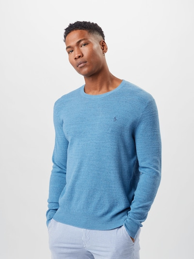 POLO RALPH LAUREN Sweater in Blue: Frontal view