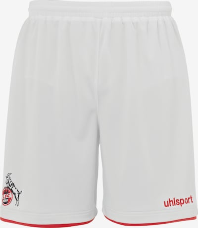 UHLSPORT Hose in rot / knallrot / weiß, Produktansicht