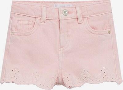 MANGO KIDS Hose 'Bertab' in pink / weiß, Produktansicht