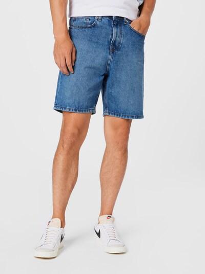 Denim Project Shorts in blue denim, Modelansicht