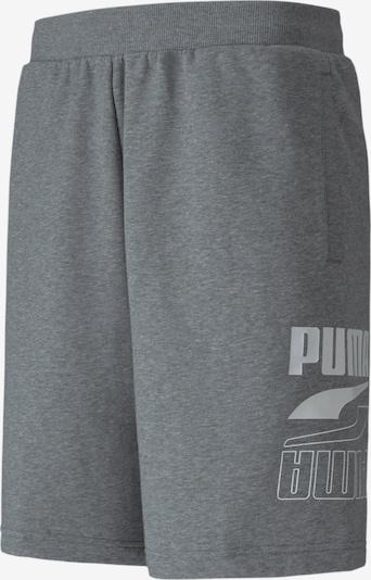 PUMA Shorts in grau: Frontalansicht