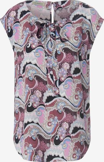 Uta Raasch Blouse in de kleur Donkerblauw / Gemengde kleuren / Rosa, Productweergave