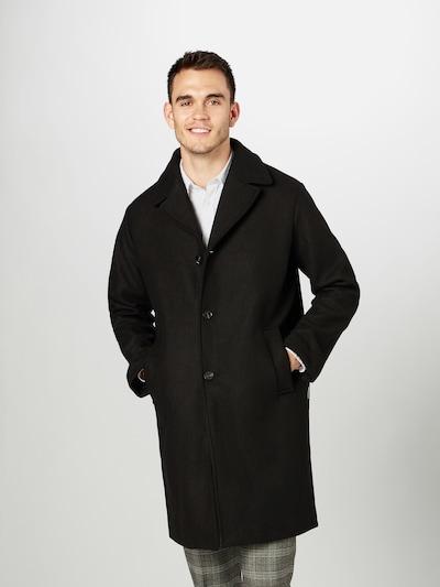 Wemoto Mantel 'SETH' in schwarz, Modelansicht