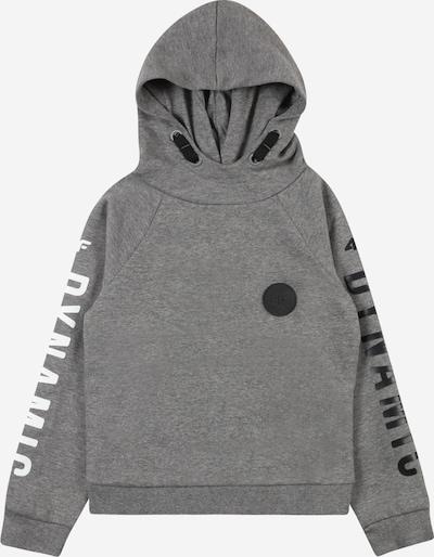 4F Sportsweatshirt in graumeliert / schwarz / weiß, Produktansicht