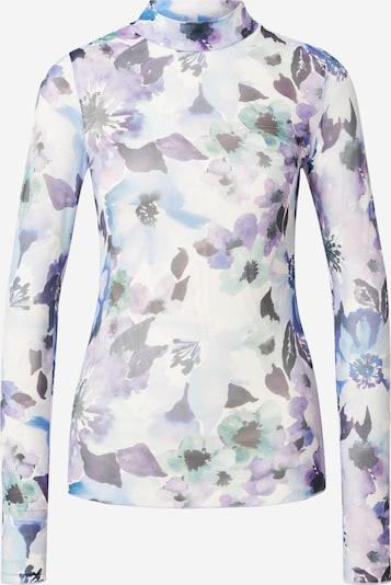 Tricou 'Filana' Moves pe albastru / lila / negru / alb, Vizualizare produs