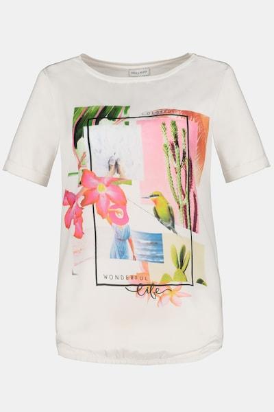 Gina Laura T-Shirt in blau / grün / rosa / weiß, Produktansicht