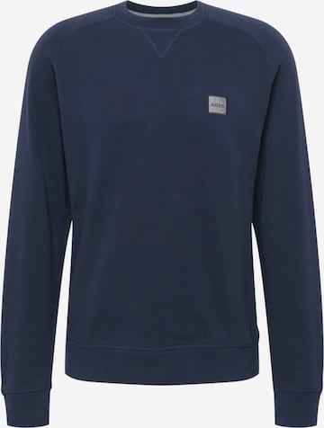 BOSS Casual Sweatshirt 'Westart' in Blau