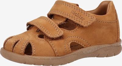 RICHTER Open schoenen in de kleur Cognac, Productweergave
