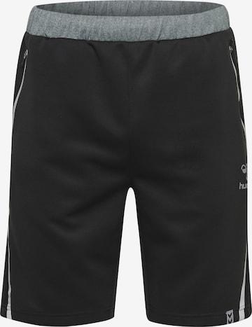 Pantalon de sport Hummel en noir