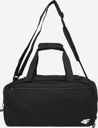 Sportinis krepšys iš 4F , spalva - juoda / balta, Prekių apžvalga