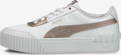 PUMA Carina Lift Metallic Damen Sneaker in weiß, Produktansicht