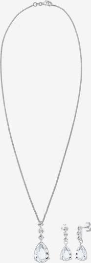 ezüst / fehér ELLI PREMIUM Ékszer szett, Termék nézet