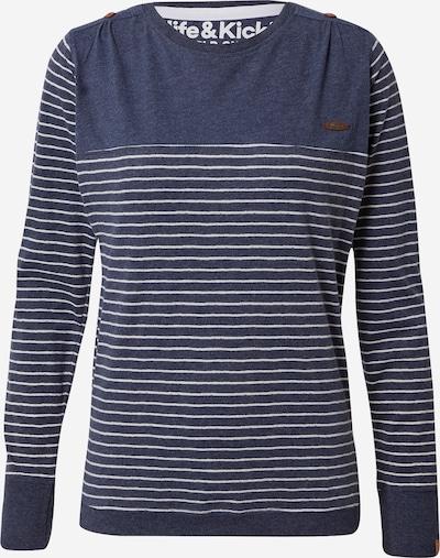Alife and Kickin Shirt 'Leonie' in marine / weiß, Produktansicht