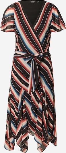 Lauren Ralph Lauren Kleid u boja pijeska / nebesko plava / pastelno crvena / crna / bijela, Pregled proizvoda