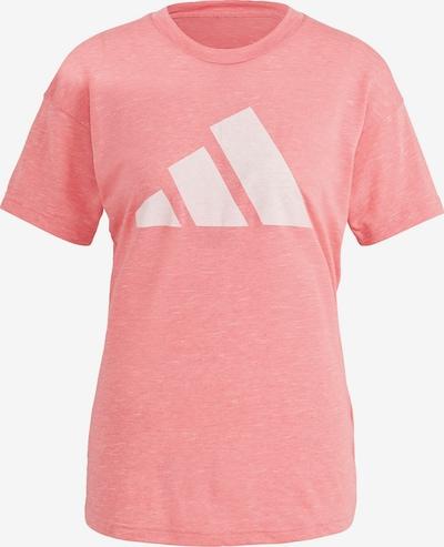 ADIDAS PERFORMANCE T-shirt fonctionnel 'Winners' en rose / blanc, Vue avec produit