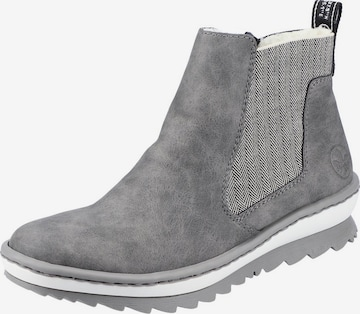 RIEKER Ankle Boots in Grey