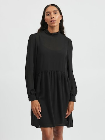 VILA Košeľové šaty 'Saffa' - Čierna