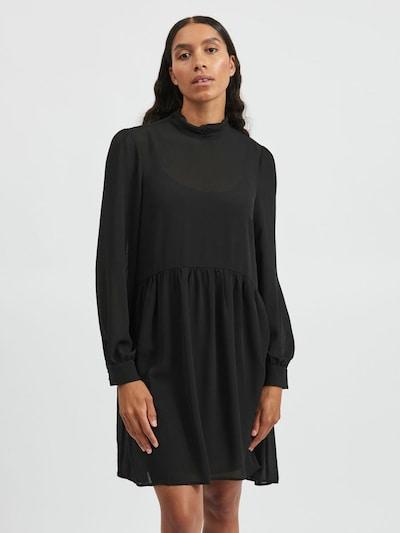 VILA Kleid 'Saffa' in schwarz, Modelansicht