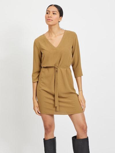 VILA Dress in Light brown, View model