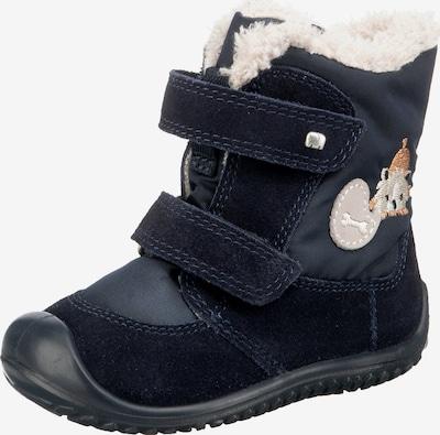 ELEFANTEN Botas 'Sog' en azul oscuro / marrón claro / gris claro / blanco lana, Vista del producto