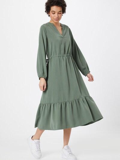 Rochie tip bluză LOVJOI pe verde, Vizualizare model