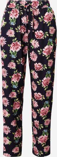 ABOUT YOU Pantalon 'Eleni' en bleu marine / mélange de couleurs, Vue avec produit