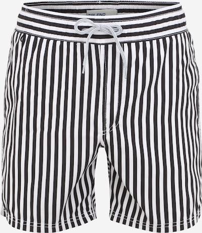 BLEND Plavecké šortky - černá / bílá, Produkt
