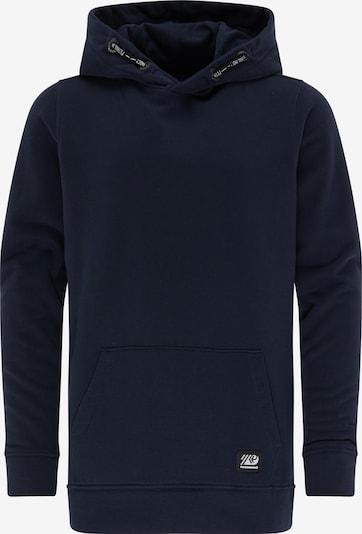 Petrol Industries Sweatshirt in nachtblau / weiß, Produktansicht