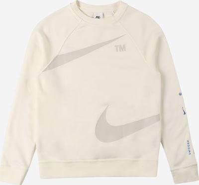 Nike Sportswear Суичър в кремаво / сиво, Преглед на продукта