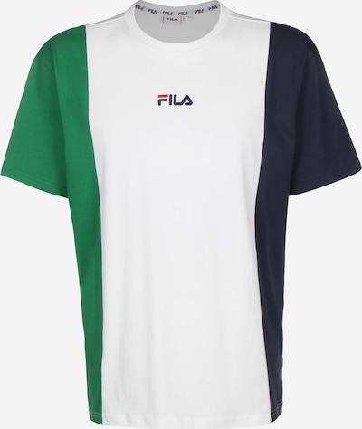 FILA T-Shirt 'Saint' in dunkelblau / grün / weiß, Produktansicht