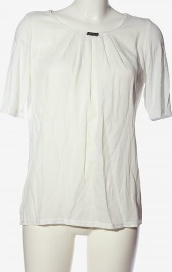 Just White Kurzarm-Bluse in M in weiß, Produktansicht