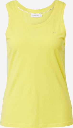 Calvin Klein Top 'PIPING' in gelb, Produktansicht