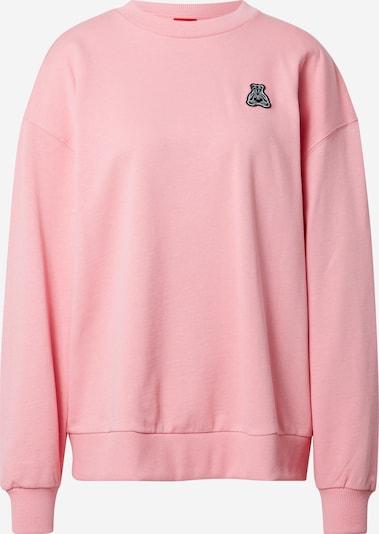 Megztinis be užsegimo 'Dashimara' iš HUGO , spalva - šviesiai rožinė / balta, Prekių apžvalga