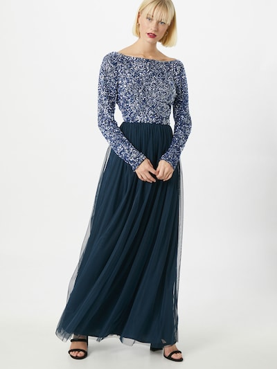 LACE & BEADS Kleid 'Carrey' in navy, Modelansicht
